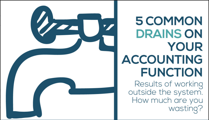 5 Common Drains On Your Accounting Function